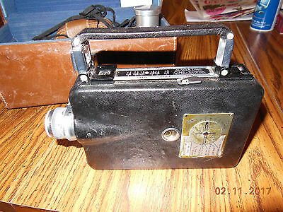 Kodak 16mm camera with case and lenses