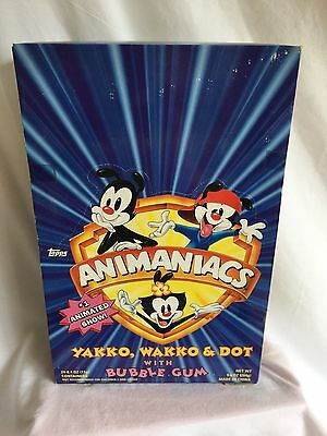 ANIMANIACS GUM BOX--gum filled characters (BH)