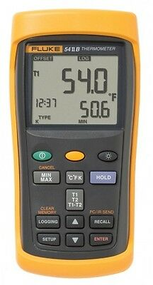 Fluke 54-2-B Dual Input Digital Thermometer with Data Logging