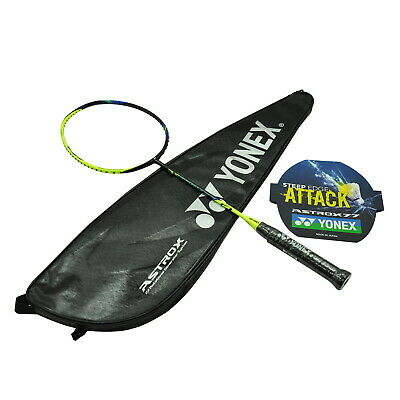Yonex Badminton Racquet - Astrox 77 (Yellow) - 3U5 - Free String + Grip + Bag