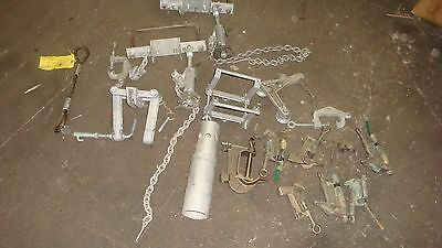 HUGE LOT AB Chance Hubbell LINEMANS CLAMPS GIN PARTS