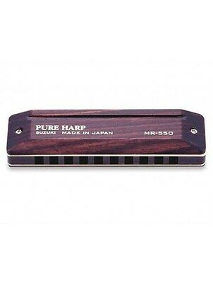 Pure Harp Suzuki Harmonica in all keys, box included, Free Shipping in the US !