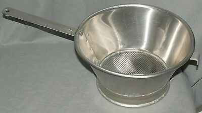 Bakco Stainless Steel NSF Commercial Kitchen Fried Food Colander Strainer