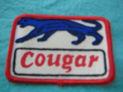 "Vintage Ford Mercury Cougar XR7 Patch  3 "" X 2"""