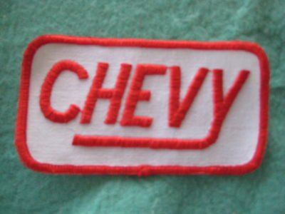 "Vintage Chevy Nova Belair   Patch 4"" X 2 1/8"""
