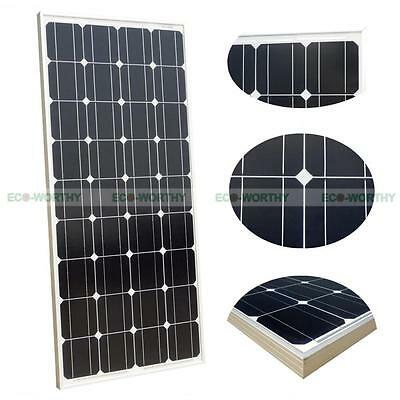 Sun Power 160W 100W 12V Mono Poly Solar Panel for Home PV System Car Boat Yacht