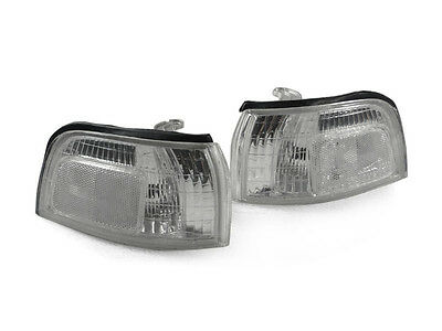DEPO 1990 1991 Honda Accord DIRECT Replacement CLEAR Corner Lights