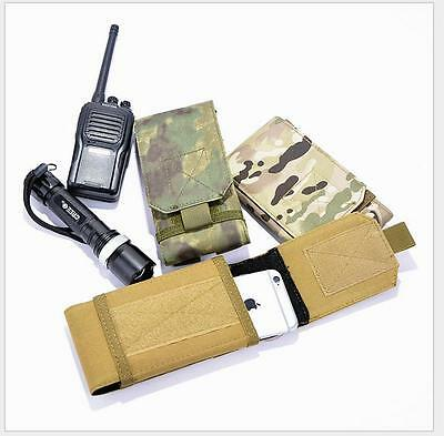 Universal Tactical Mobile Phone Waist Bag Pack Belt Loop Hook Pouch Cover Case
