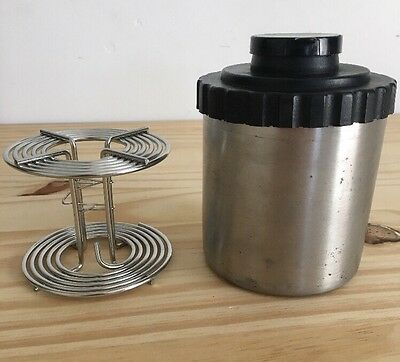 Omega Stainless Steel Developing Tank With 120 Reel Film