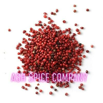 Pink Peppercorns Whole Dried 25g - 1kg Hand Picked A* Grade Quality Free UK P&P