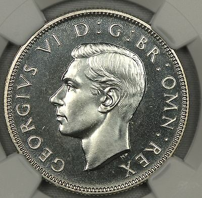 Flashy Ngc Pf66 1937 Great Britain Two 2 Shillings Uk 2S   (Sp05)