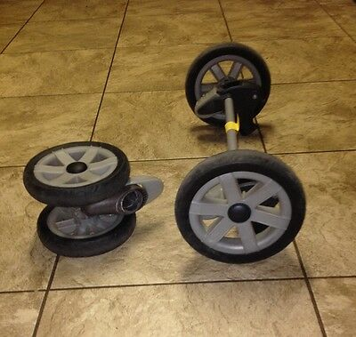 Chicco FRONT WHEEL or REAR SINGLE WHEEL/BRAKES/AXLE ASSEMBLY - CHOICE