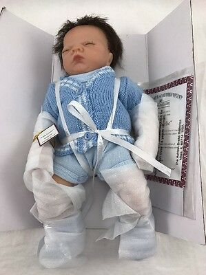 Tiny Miracles Little Charlie Miniature Realistic Baby Boy Doll By Ashton-Drake