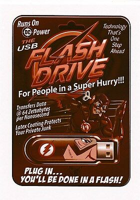 #7 FLASH DRIVE 2017 Wacky Packages 50th Anniversary POP CULTURE SEPIA