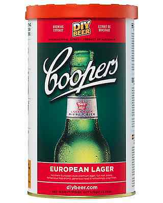 Coopers Home Brew European Lager 1.7kg pack Bar Accessories