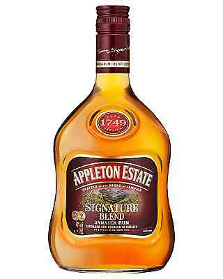 Appleton Estate Signature Blend Jamaica Rum 700mL case of 6 Dark Rum