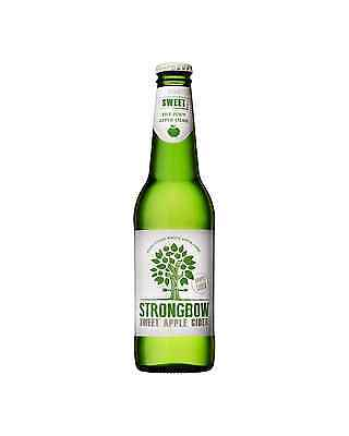 Strongbow Sweet Cider 355mL case of 24 Apple Cider