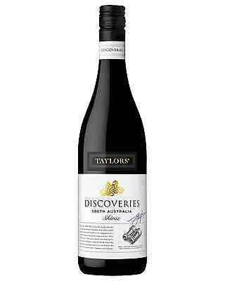 Taylors Discoveries Shiraz case of 6 Dry Red Wine 750mL Limestone Coast