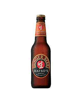 Matso's Ginger Beer 330mL case of 24 Craft Beer