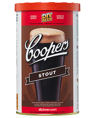 Coopers Home Brew Stout 1.7kg pack Bar Accessories