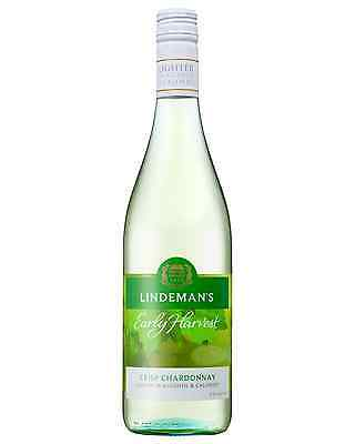 Lindeman's Early Harvest Crisp Chardonnay case of 6 Dry White Wine 750mL