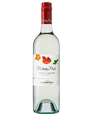 De Bortoli Windy Peak Pinot Grigio case of 6 Dry White Wine 750mL