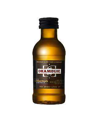 Drambuie Scotch Whisky Liqueur 50mL case of 12 Whisky Liqueurs
