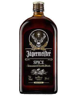 Jagermeister Spiced Liqueur 700mL Jägermeister case of 6 Herbal Liqueurs