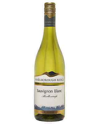 Marlborough Ridge Sauvignon Blanc case of 6 Dry White Wine 750mL