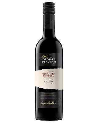 George Wyndham Founder's Reserve Shiraz case of 6 Dry Red Wine 750mL