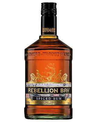 Rebellion Bay Spiced Rum 700mL case of 6