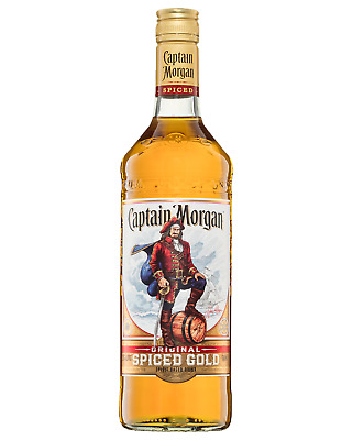 Captain Morgan Original Spiced Gold Rum 700mL case of 6