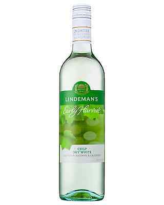 Lindeman's Early Harvest Crisp Dry White case of 6 White Blend Wine 750mL