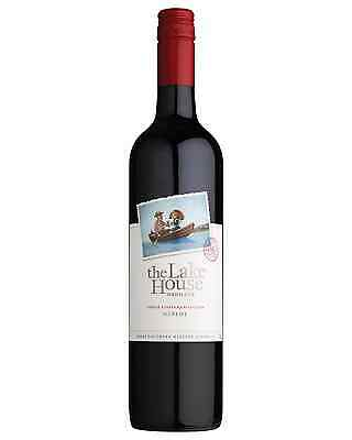 The Lake House Merlot bottle Dry Red Wine 750mL Great Southern