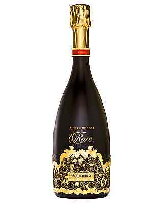 Piper-Heidsieck Rare Millesime Champagne 2002 case of 3 Pinot Noir Chardonnay