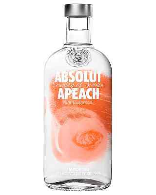 Absolut Apeach Vodka 700mL bottle