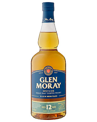 Glen Moray 12 Year Old Scotch Whisky 700mL bottle Single Malt Speyside