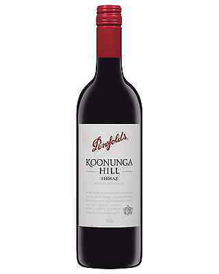Penfolds Koonunga Hill Shiraz 2012 case of 6 Dry Red Wine 750mL