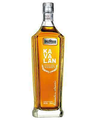 Kavalan Single Malt Taiwanese Whisky 700mL case of 6