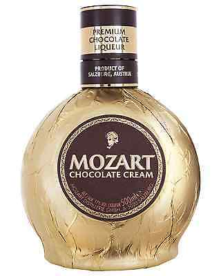 Mozart Liqueur Gold Chocolate 500mL case of 6 Chocolate Liqueurs
