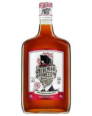 Jeremiah Weed The Curious Cinnamon Whiskey Liqueur 700mL case of 6