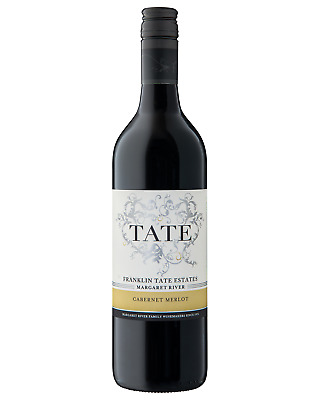 Franklin Tate Estates Cabernet Merlot bottle Dry Red Wine 750mL Margaret River
