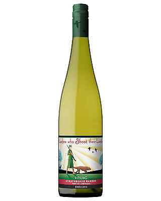 Fowles Wine Ladies Who Shoot Their Lunch Riesling case of 6 Dry White 750mL