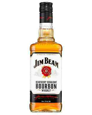 Jim Beam White Label Bourbon 700mL case of 12 American Whiskey
