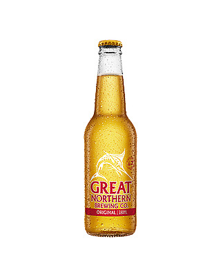 Great Northern Brewing Company Original Lager Bottles 330mL case of 24