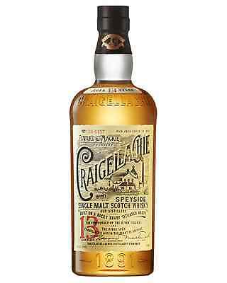 Craigellachie 13 Year Old Single Malt Scotch Whisky 700mL case of 6 Speyside