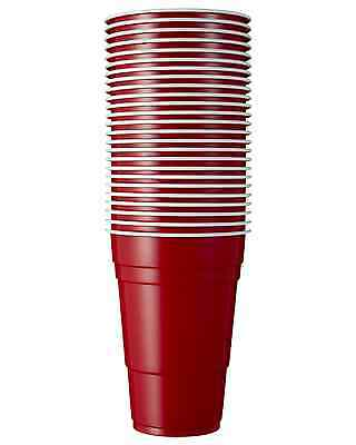 Redds Red Beer Cups 25 pack Bar Accessories