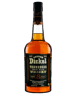 George Dickel Old No. 8 Tennessee Whisky 750mL bottle American Whiskey