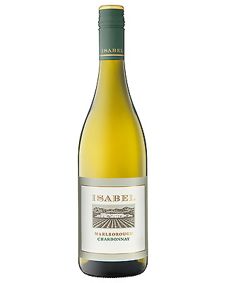 Isabel Estate Chardonnay case of 6 Dry White Wine 750mL Marlborough