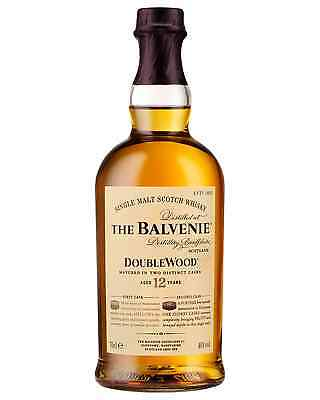 The Balvenie 12 Year Old DoubleWood Scotch Whisky 700mL bottle Single Malt